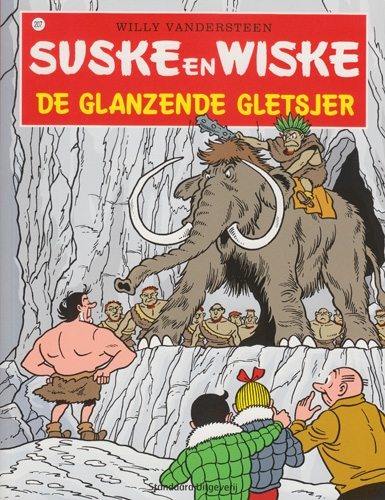 Suske en Wiske softcover nummer: 207. Hertekende cover.