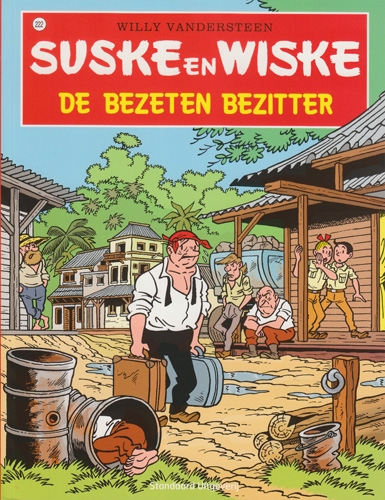 Suske en Wiske softcover nummer: 222. Hertekende cover.
