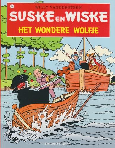 Suske en Wiske softcover nummer: 228. Hertekende cover.