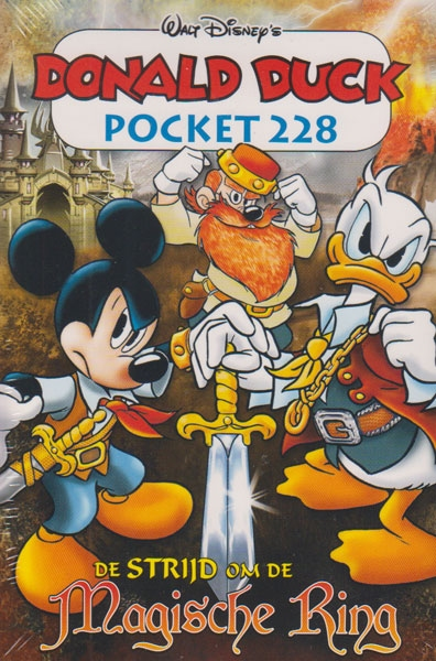 Donald Duck pocket softcover nummer: 228.
