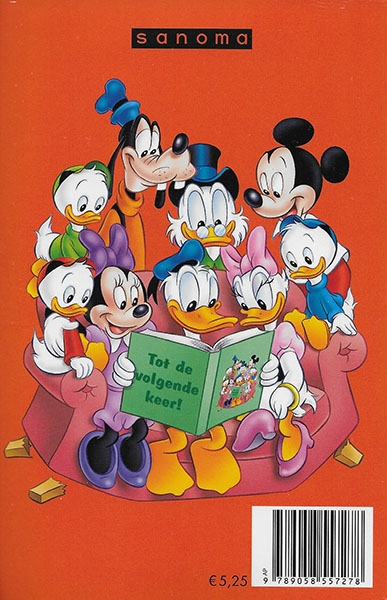 Donald Duck pocket softcover nummer: 238.