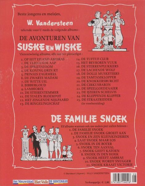 Suske en Wiske softcover VUM kranten uitgave NR: 24, 2005