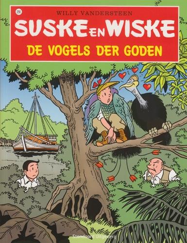 Suske en Wiske softcover nummer: 256. Hertekende cover.