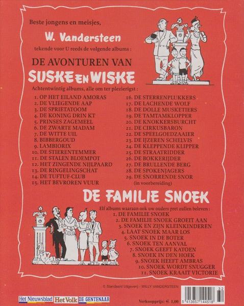 Suske en Wiske softcover VUM kranten uitgave NR: 28, 2005
