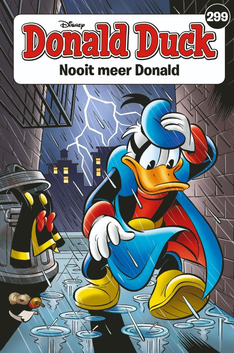 Donald Duck pocket softcover nummer: 299.