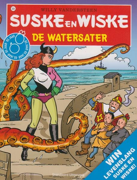 Suske en Wiske softcover nummer: 309. Hertekende cover.