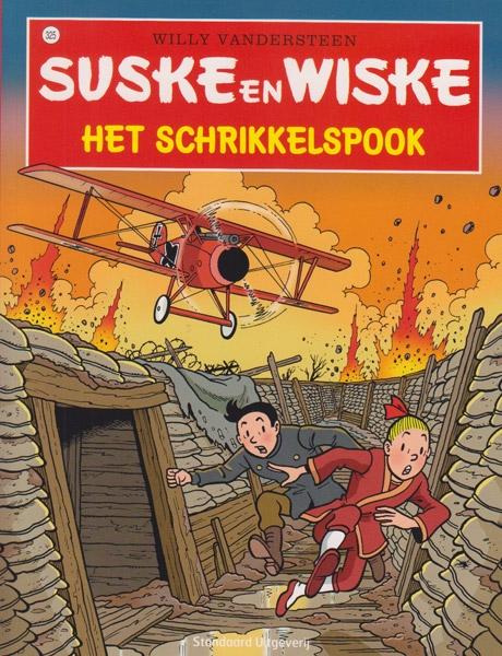 Suske en Wiske softcover nummer: 325. Hertekende cover.