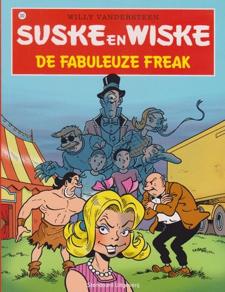 Suske en Wiske softcover nummer: 330. Hertekende cover.