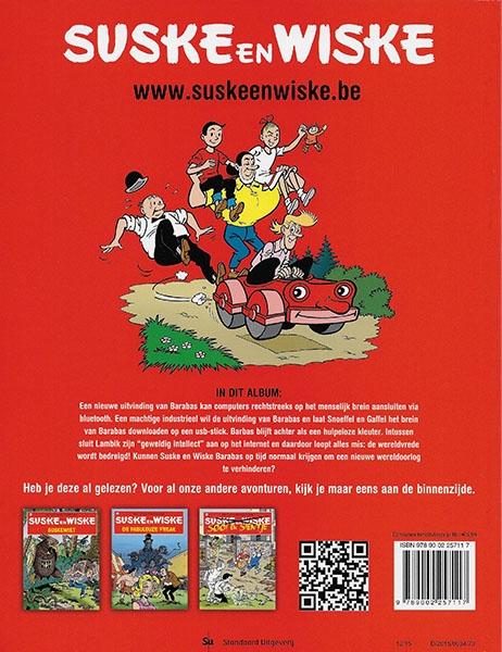 Suske en Wiske softcover nummer: 332. Hertekende cover.