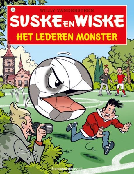 Suske en Wiske softcover nummer: 335. Hertekende cover.