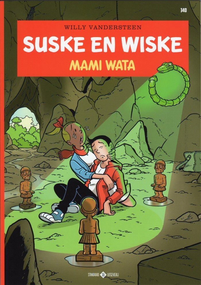Suske en Wiske softcover nummer: 340.
