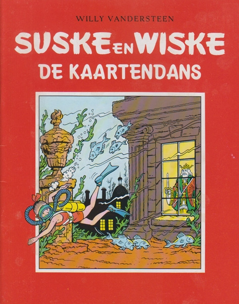 Suske en Wiske softcover VUM kranten uitgave NR: 45, 2005