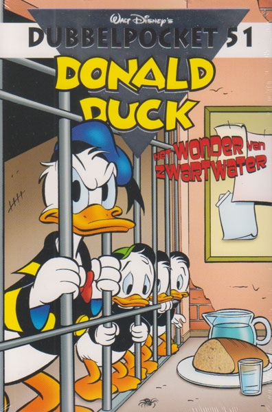 Donald Duck dubbelpocket softcover nummer: 51.