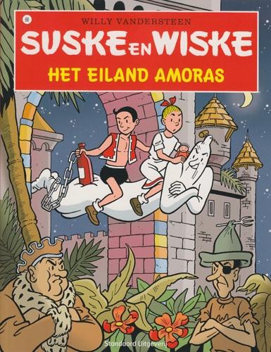 Suske en Wiske softcover nummer: 68. Hertekende cover.