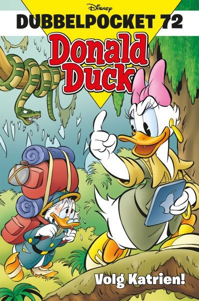 Donald Duck dubbelpocket softcover nummer: 72.