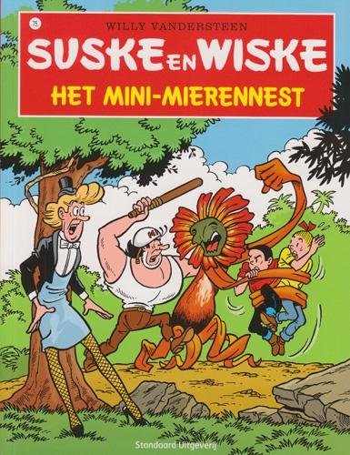 Suske en Wiske softcover nummer: 75. Hertekende cover.