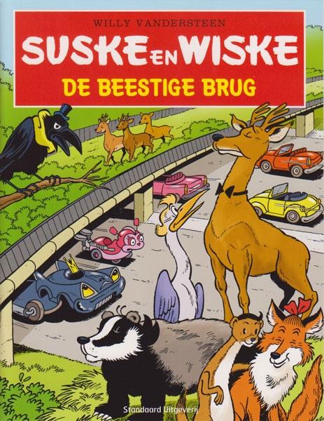 Softcover, Suske en Wiske: De beestige brug (2014).