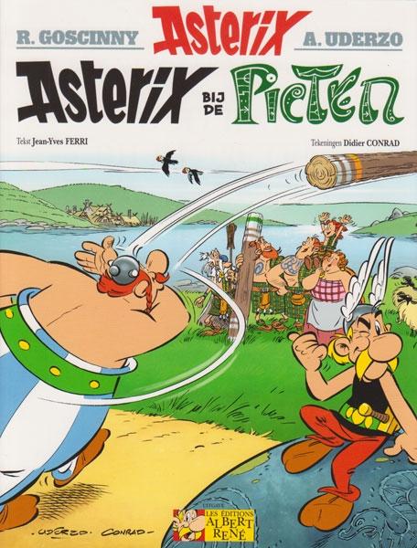 Asterix softcover, Asterix bij de Picten.