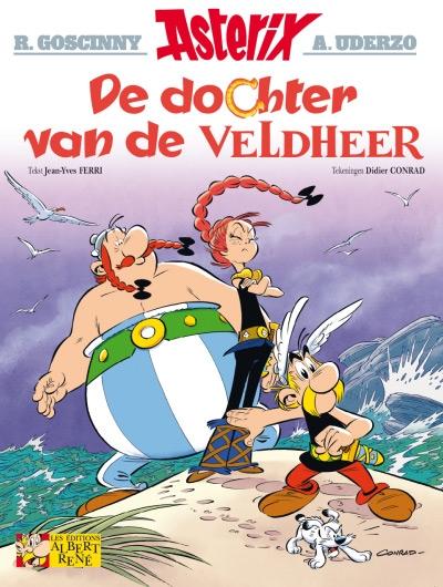 Asterix softcover, De dochter van de veldheer.