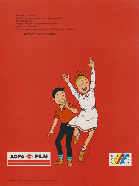 Franse softcover L´ épée égarée (Agfa Film).