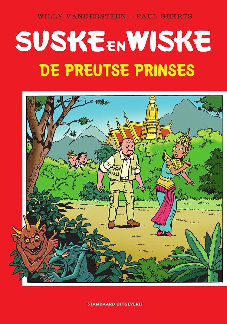 """Hommage Suske en Wiske softcover, """"De Preutse Prinses""""."""
