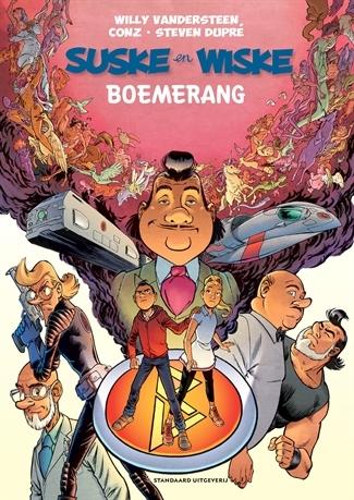 "Hommage Suske en Wiske softcover ""Boemerang""."