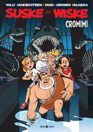"""Hommage Suske en Wiske softcover """"Cromimi""""."""