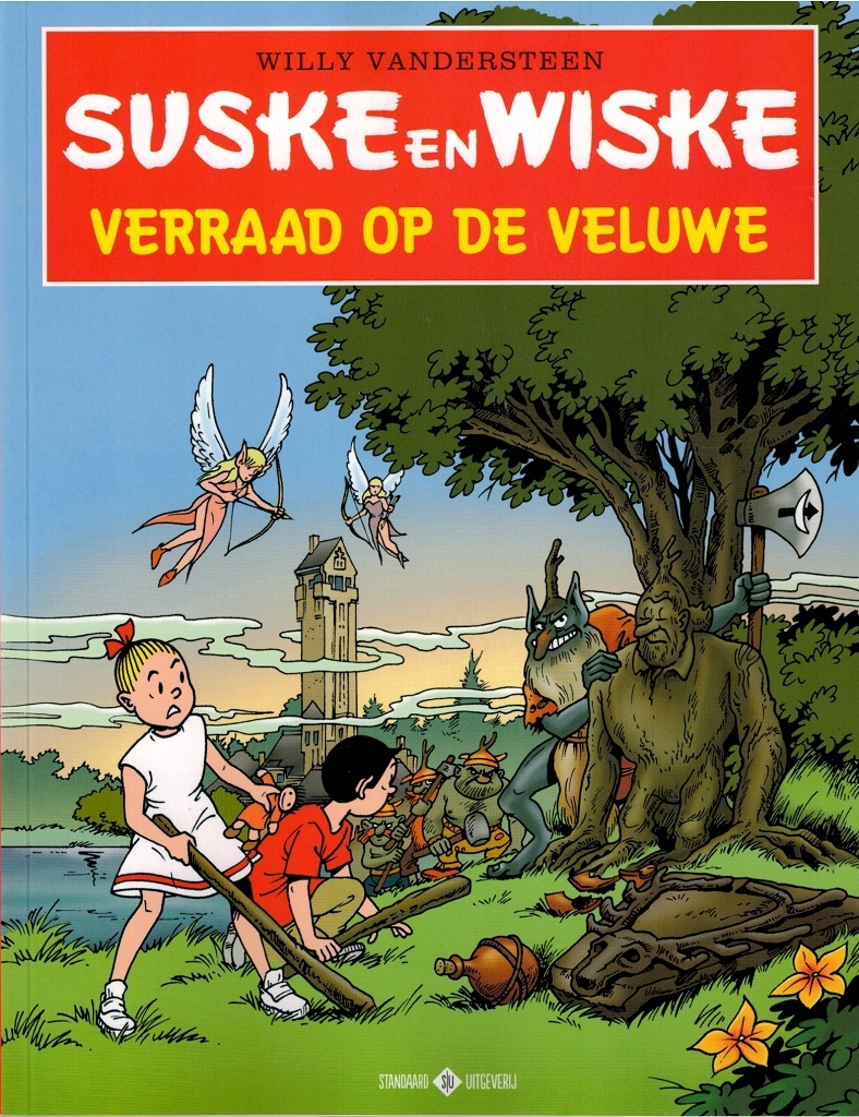 """S en W softcover """"Verraad op de veluwe"""" Hoge veluwe (2013)."""