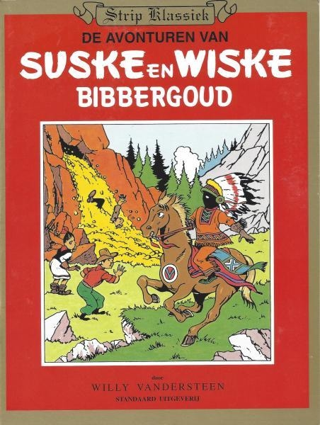 S&W Strip Klassiek softcover, Bibbergoud, Middelkerke.