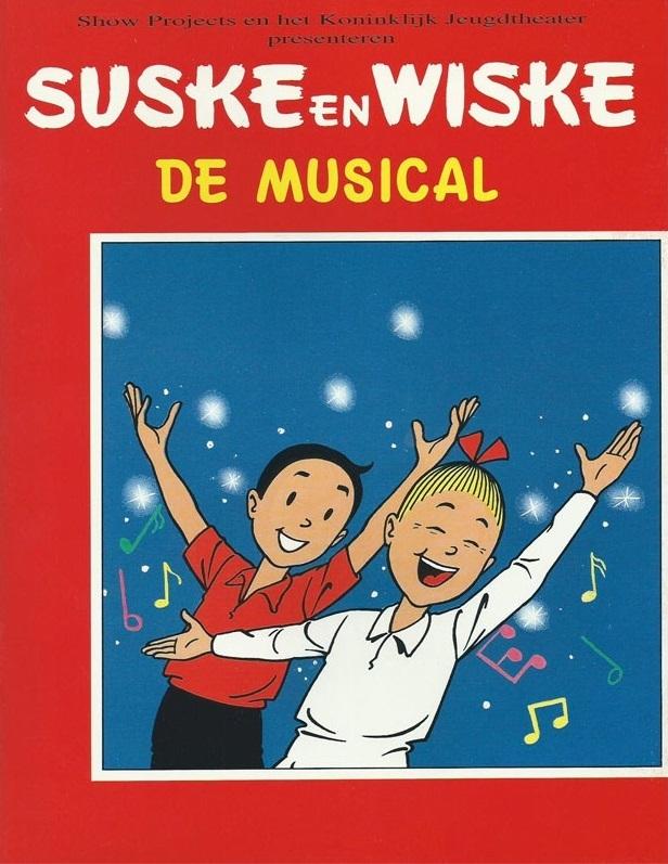 "Suske en Wiske ""De Musical"", softcover, 1994. (Reclame)"