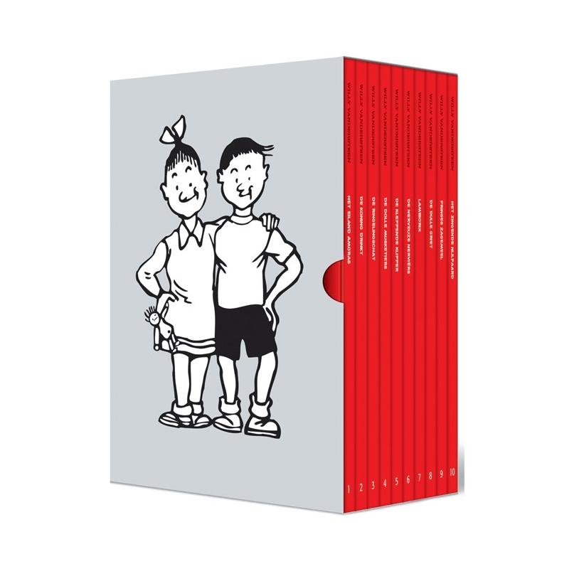 Suske en Wiske 65 jaar Knackbox (10 albums).
