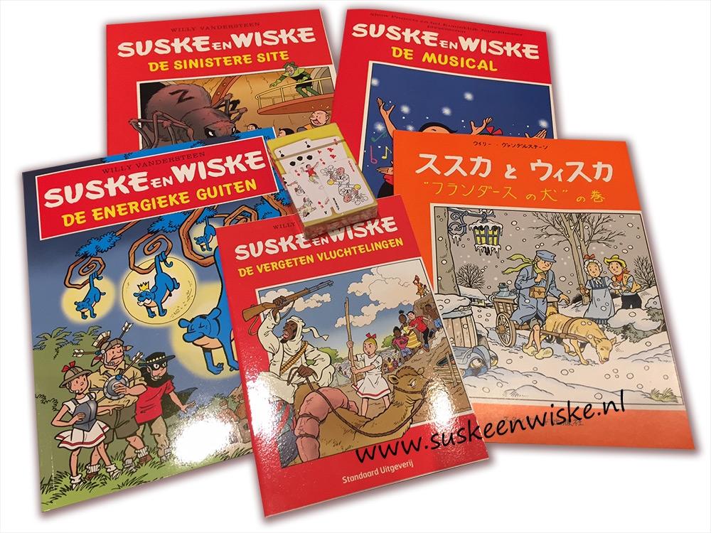 Suske en Wiske Actiepakket (2-A) € 12,50