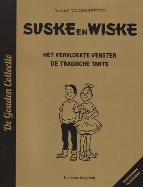 Suske en Wiske softcover, AD, Het vervloekte venster. 2013.