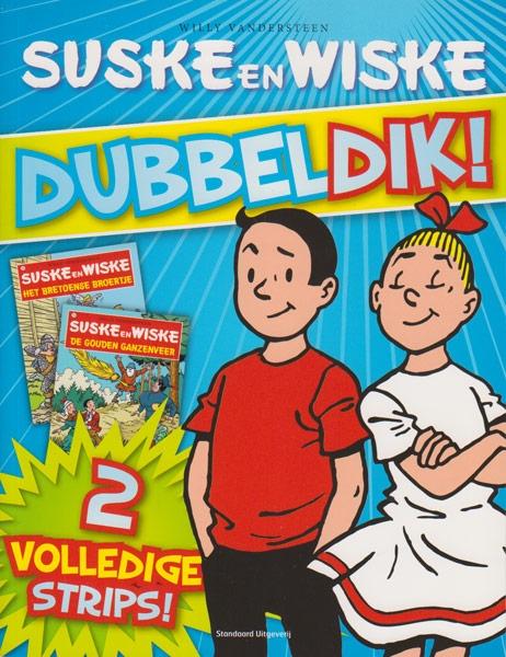 Suske en Wiske Softcover Dubbeldik !, Blauw. 2011.