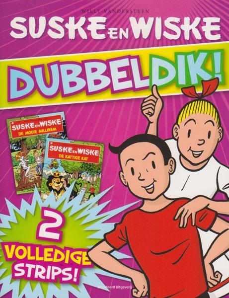 Suske en Wiske Softcover Dubbeldik !, Paars. 2011.