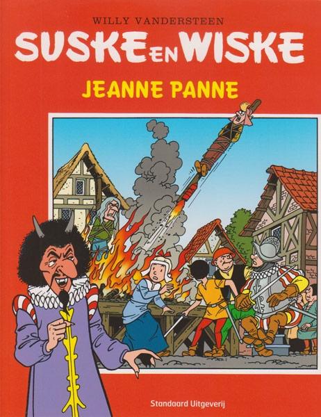 Suske en Wiske softcover Jeanne Panne, Nieuwpoort. 2014.