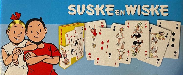 Suske en Wiske Stock speelkaarten.