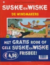 Suske en Wiske softcover nummer: 126 + Frisbee.